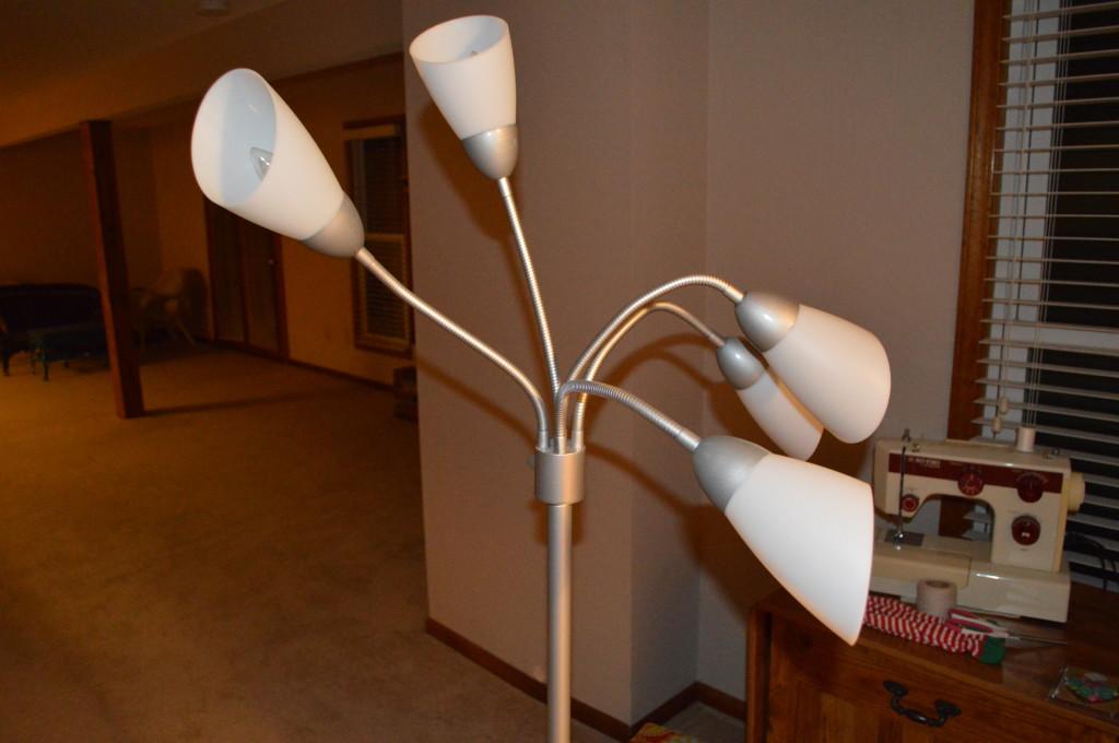 Bendy Arm Lamp