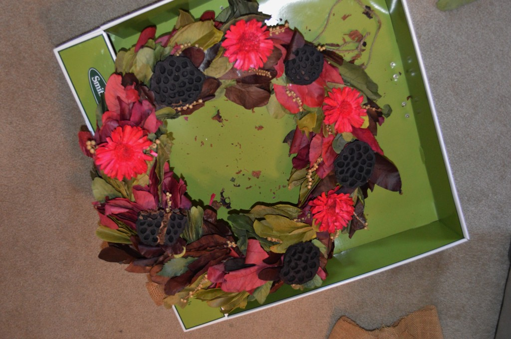 DIY Valentine's Day Wreath 2