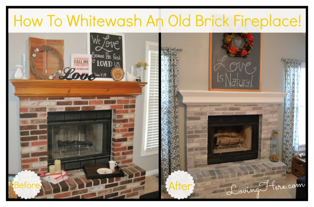 Fireplace beforeafter