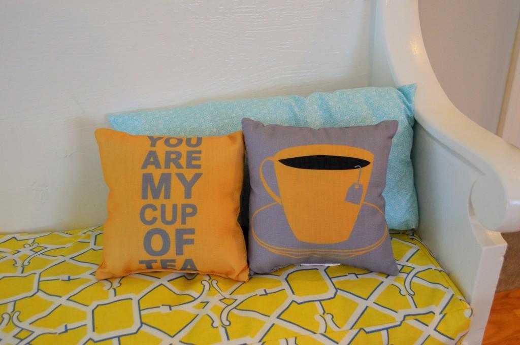 Kitchen Tea Pillows