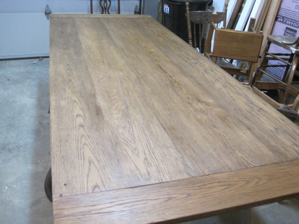Stripped and Sanded Table