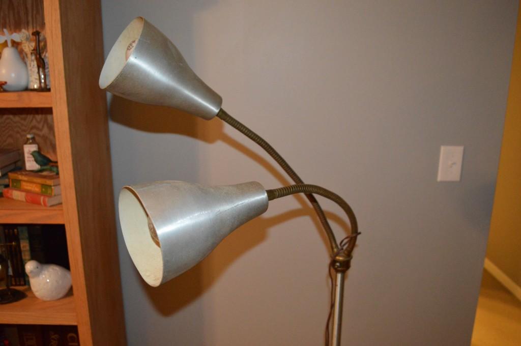 Vintage Bendy Arm Floor Lamp