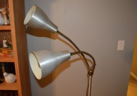 Vintage Bendy Arm Floor Lamp