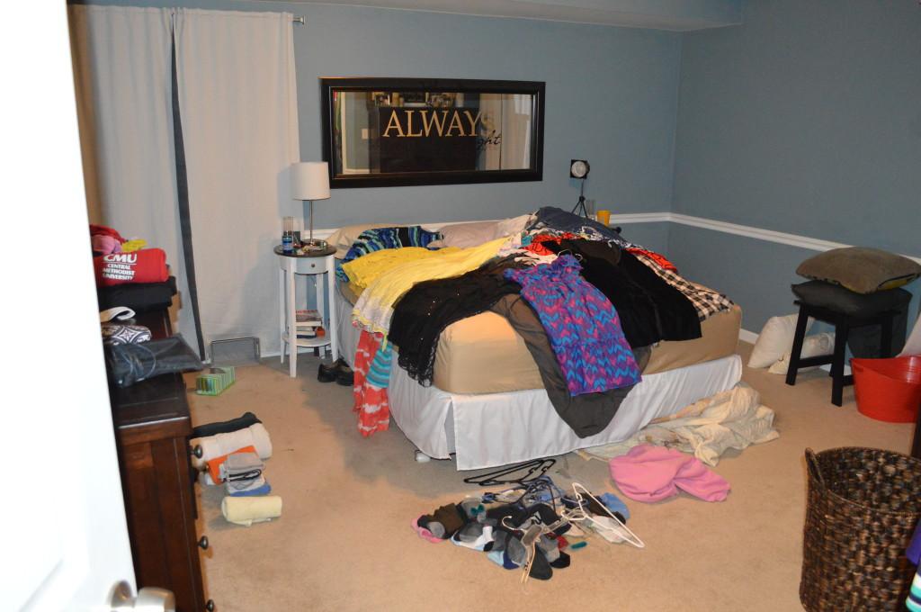 Bedroom Closet Revamp