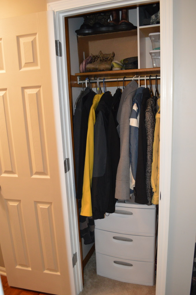 Coat Closet Clean Out