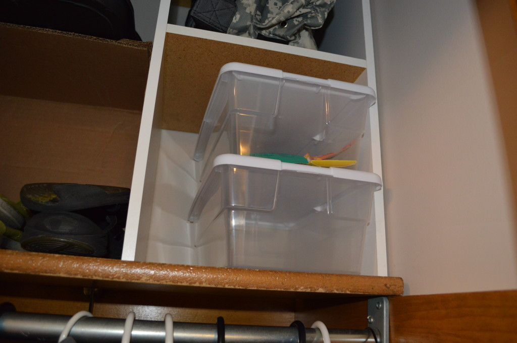 Empty Space in Coat Closet