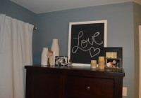Love chalkboard in bedroom 2