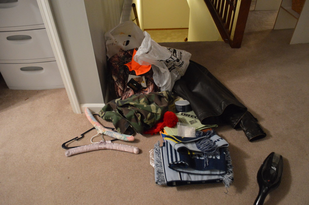 Messy Coat Closet Stuff 2