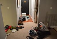 Messy Coat Closet Stuff 3