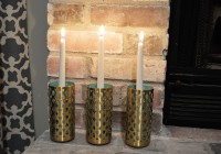 Modern Metal Candle Holders 3