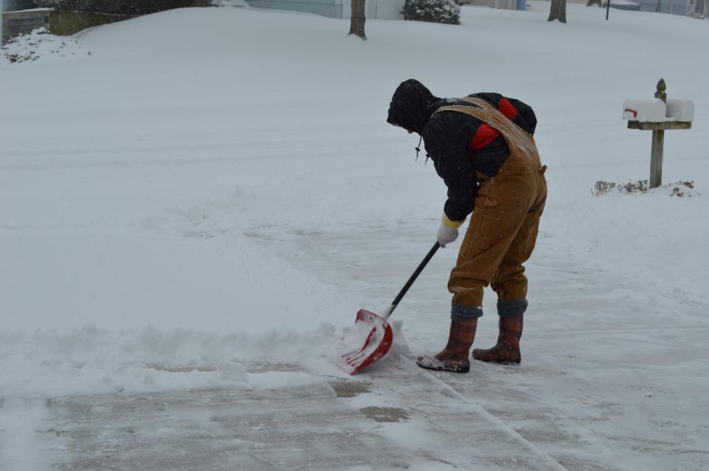 Shoveling Snow 2