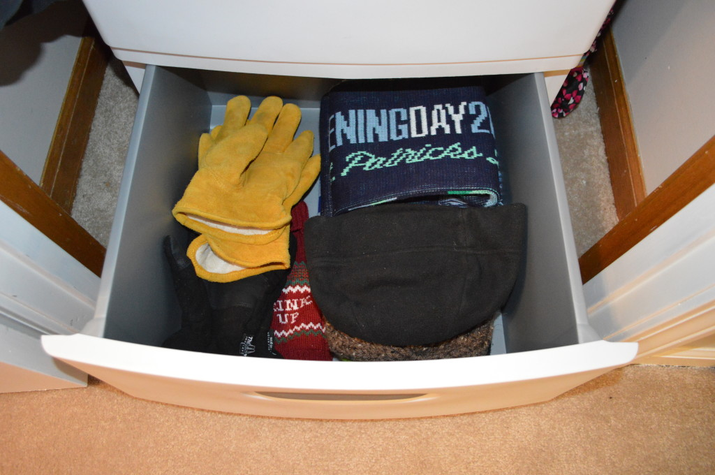 Wyatt's Drawer in Coat Closet