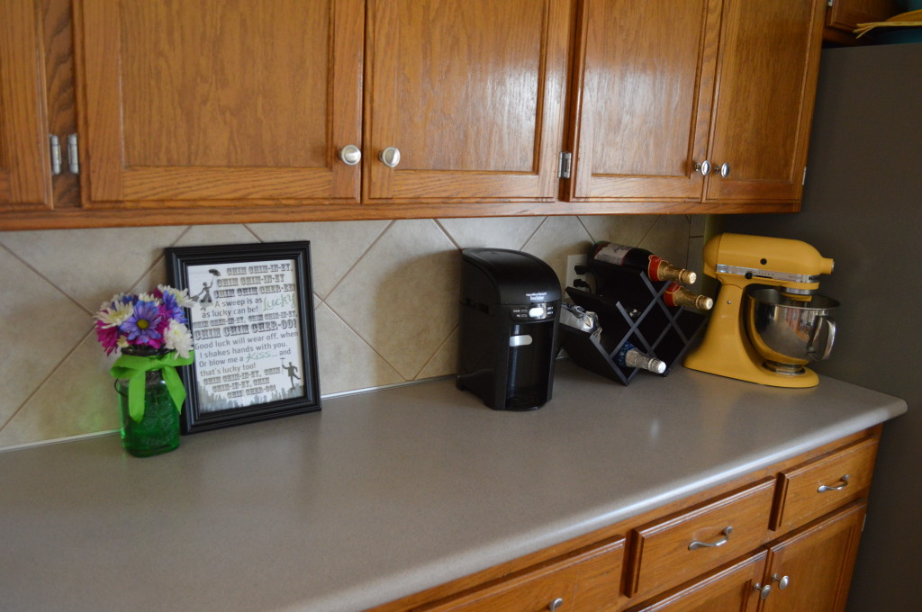 St. Patrick's Day Kitchen Decor