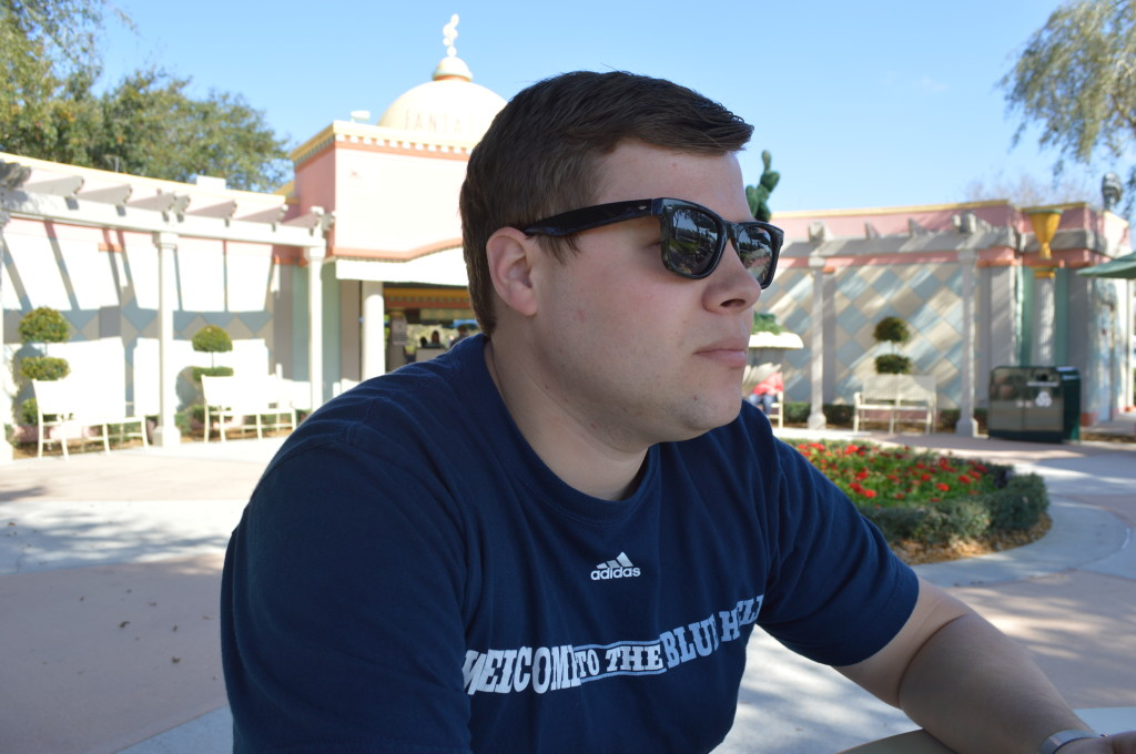 Wyatt at Disney
