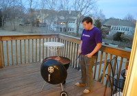 first spring grill out