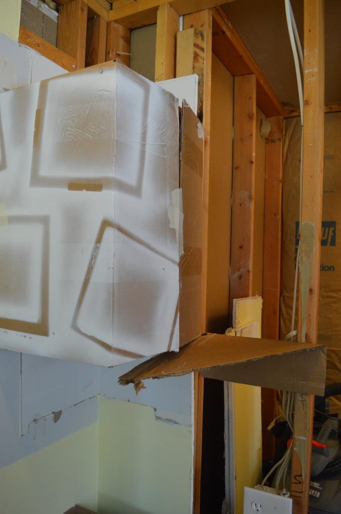 Cardboard Kitchen Cabinet Model 2