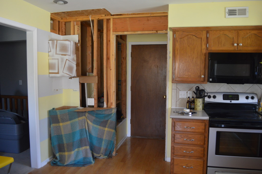Cardboard Kitchen Mock Up