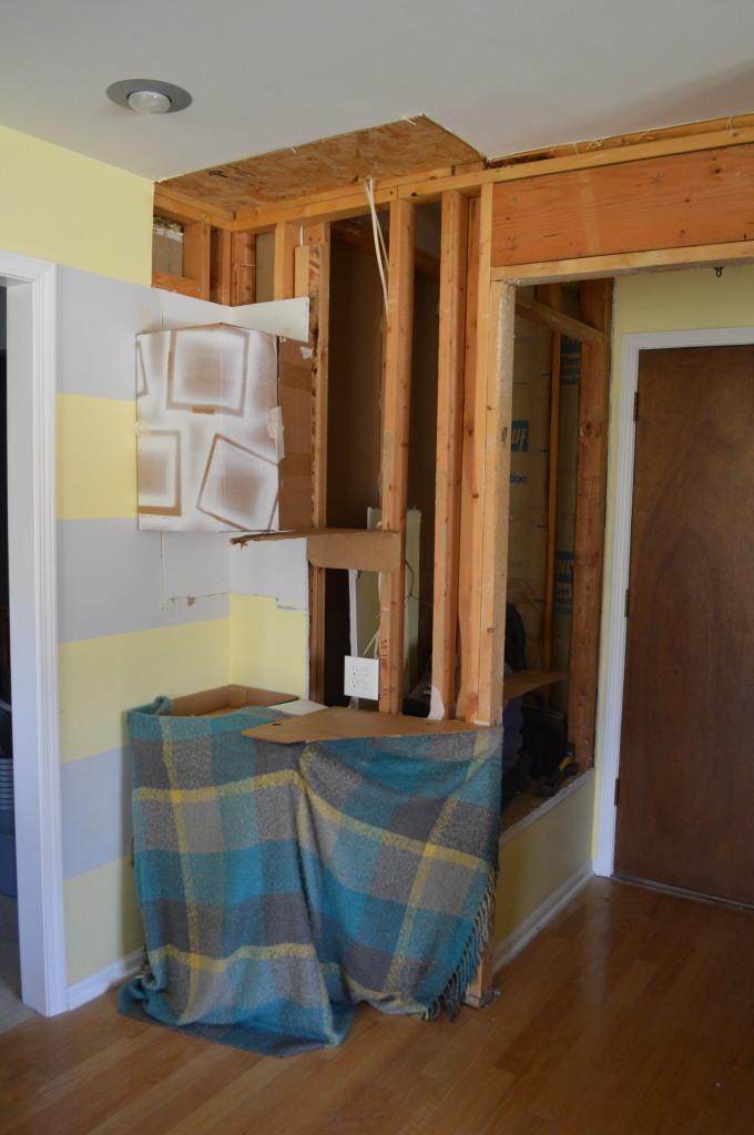 Cardboard Kitchen Mock Up 3