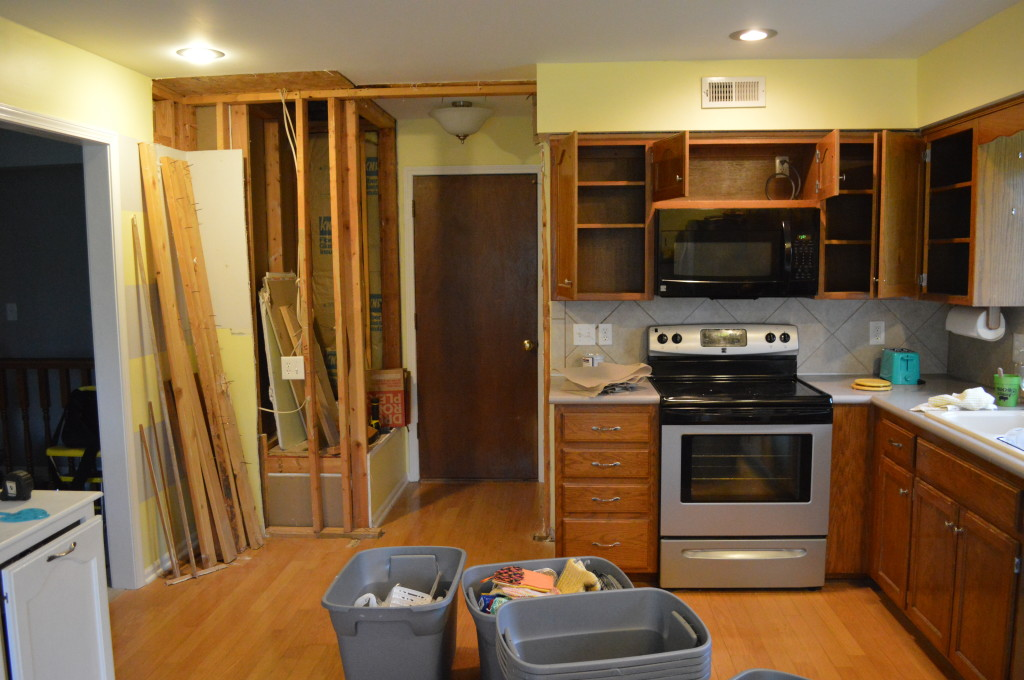 Empty Kitchen Cabinets 2