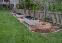 Expanded Garden Area 2014