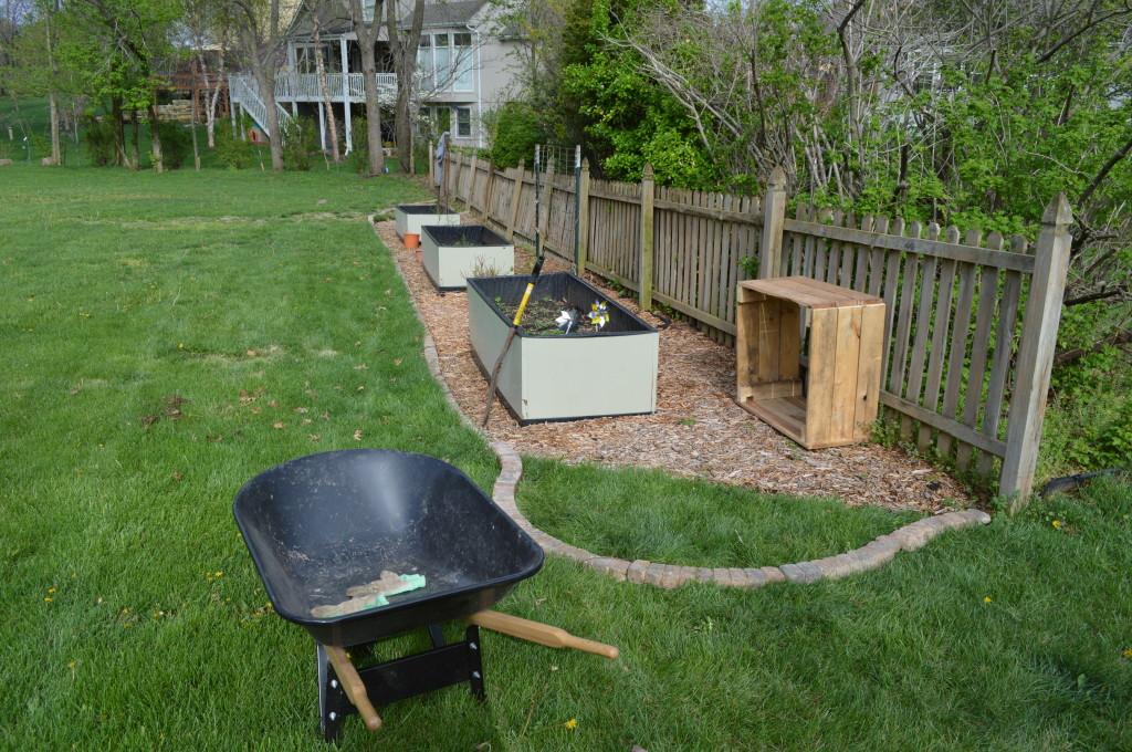 Expanding Garden Area 2014
