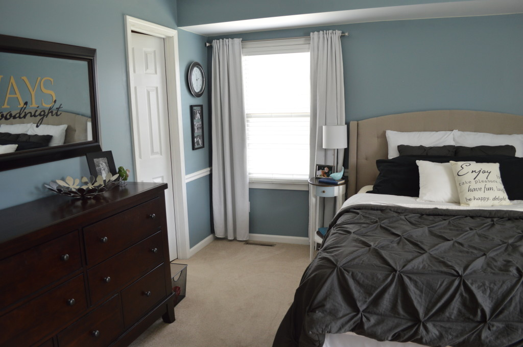 Tufted Headboard in Master Bedroom 5