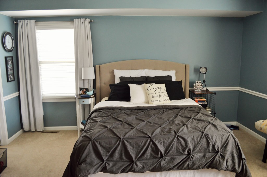 Tufted Headboard in Master Bedroom 6