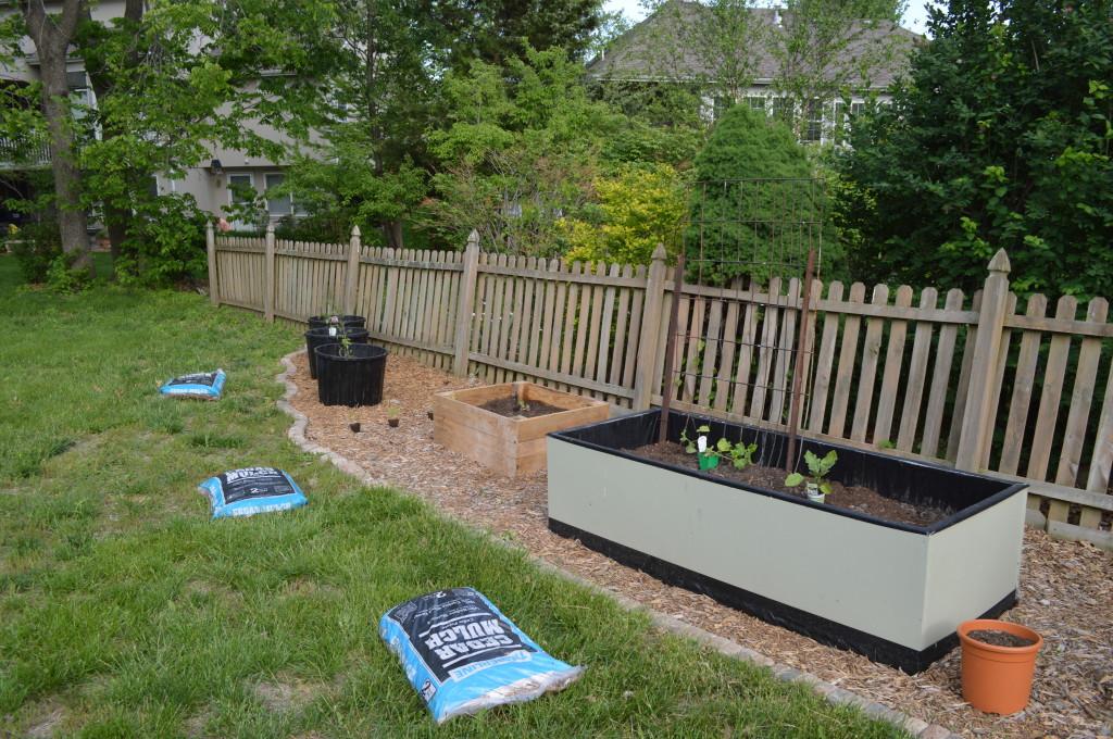 Garden Work Day May 2014