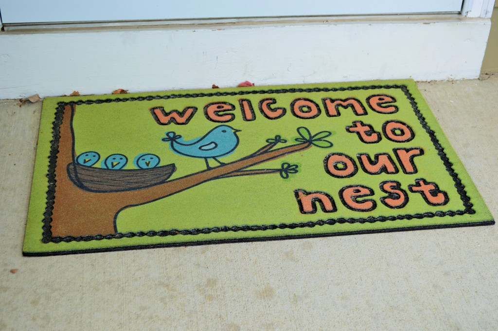 New Front Door Welcome Mat
