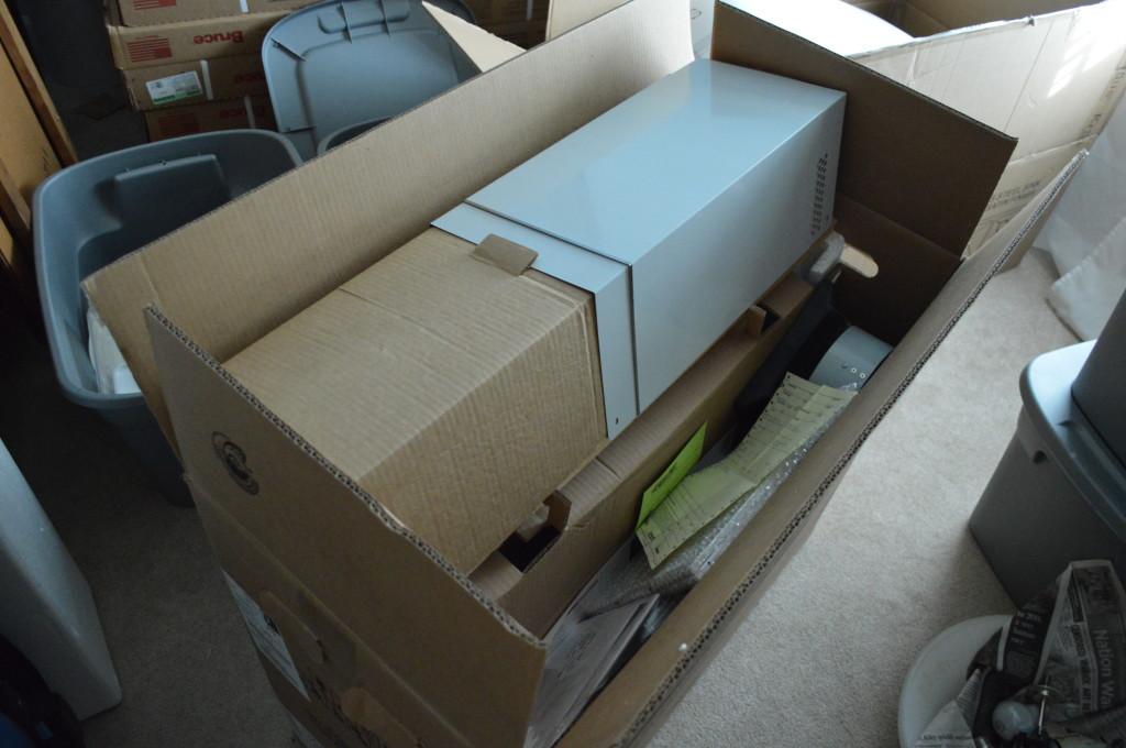 New Range Hood in Box