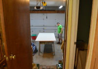 Starting New Drywall in Kitchen