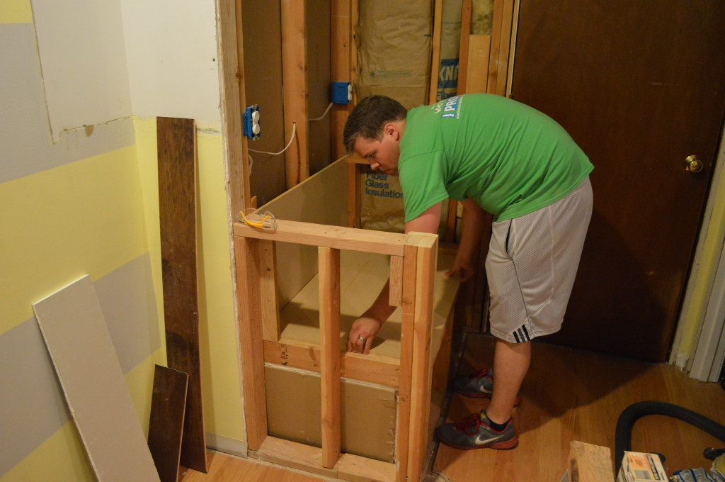 Creating Kitchen Nook Drawer Base 2