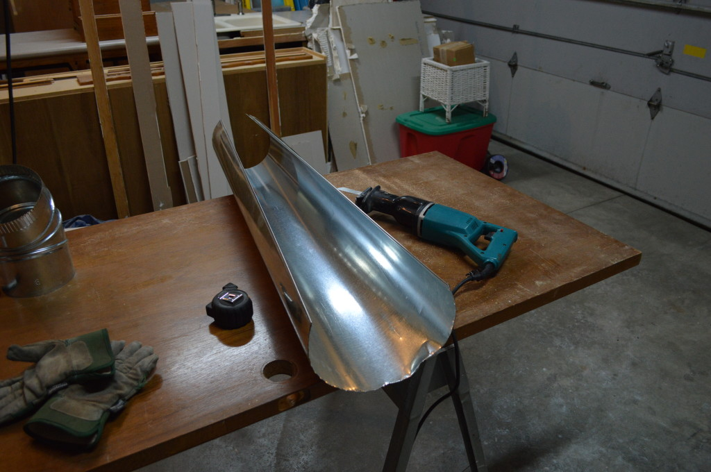 Cutting Metal Duct 3