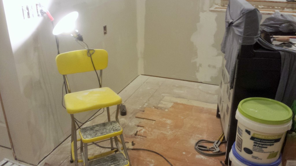 how to clean drywall dust from floors