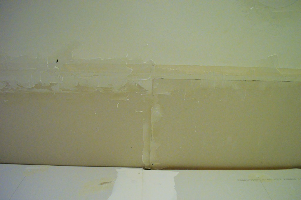 Drywall Seams Before Tape