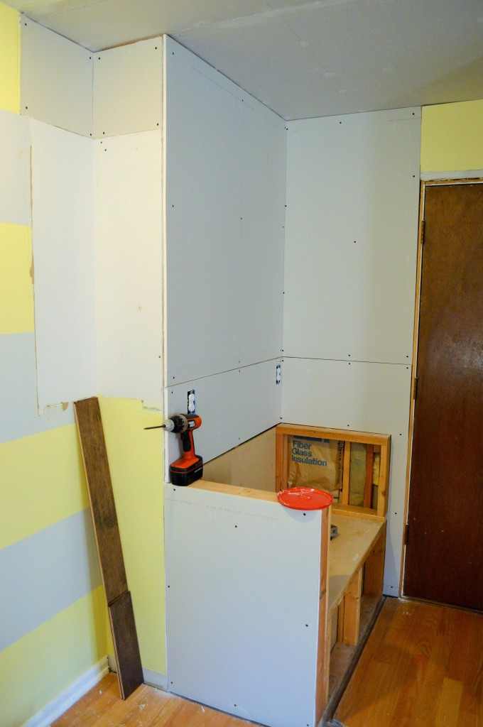 Drywall in Kitchen (2)