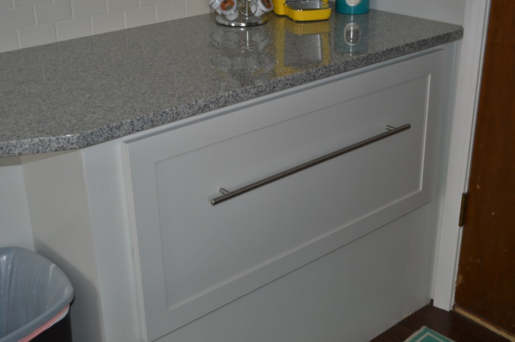 Finished Nook Drawer with Ikea Drawer Pull