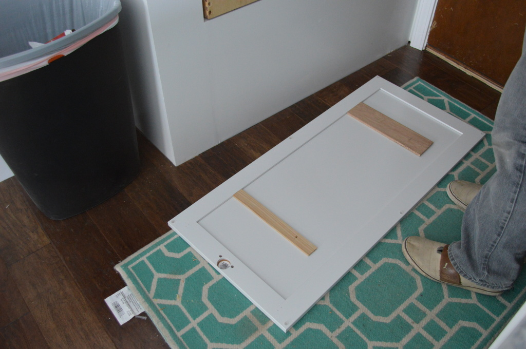Installing Nook Drawer Front