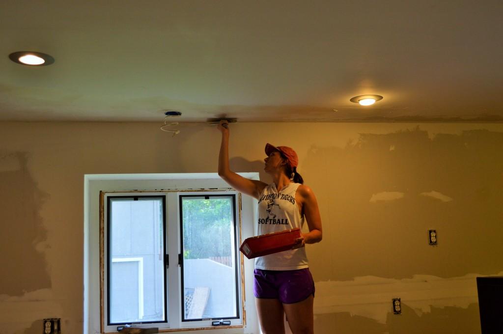 Melissa Mudding Kitchen Drywall