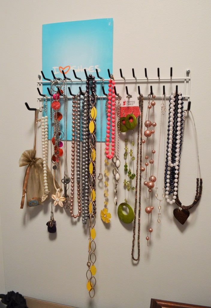 Necklace Display in small Closet