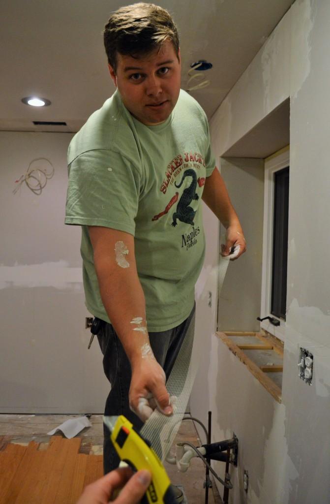Taping Drywall Seams