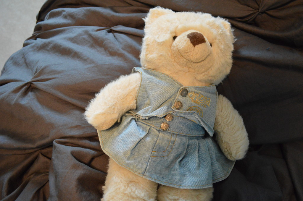 Teddy Bear with Wrinkled Clothes