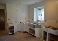 Installing Kitchen Base Cabinets