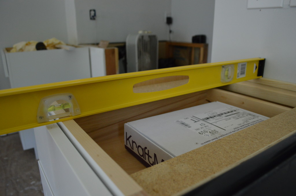 Installing Kitchen Base Cabinets 5