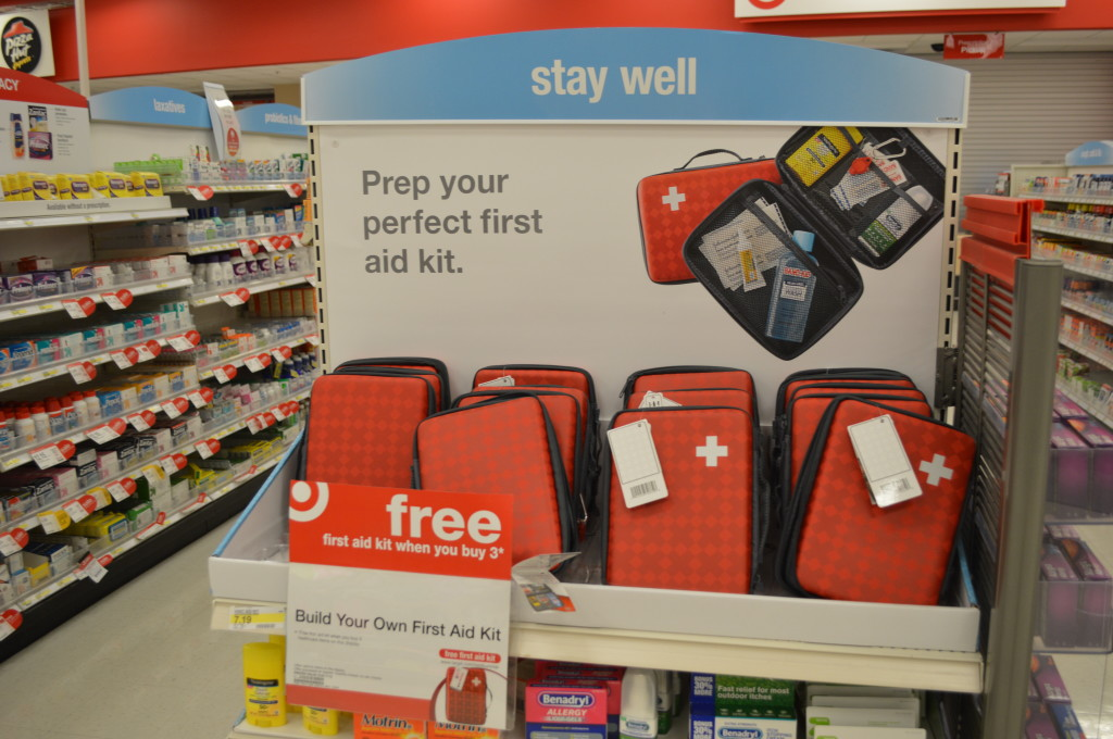 Target Pharmacy First Aid Kit