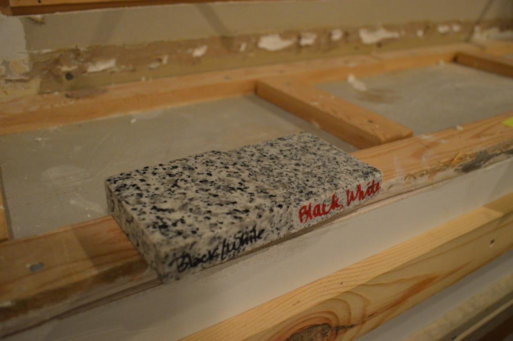 Granite Samples 3