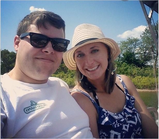 Lake selfie snip