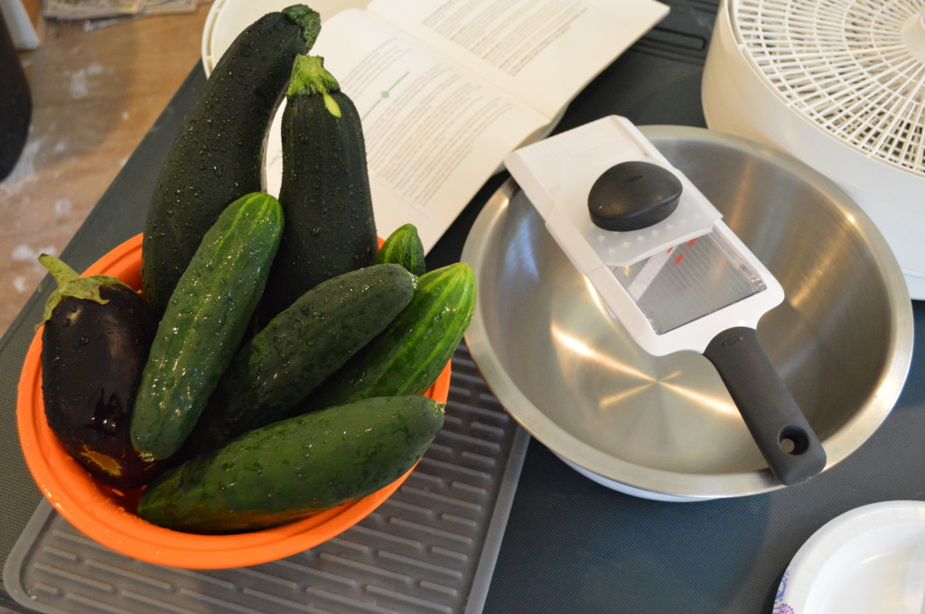 Making Cucumber Chips