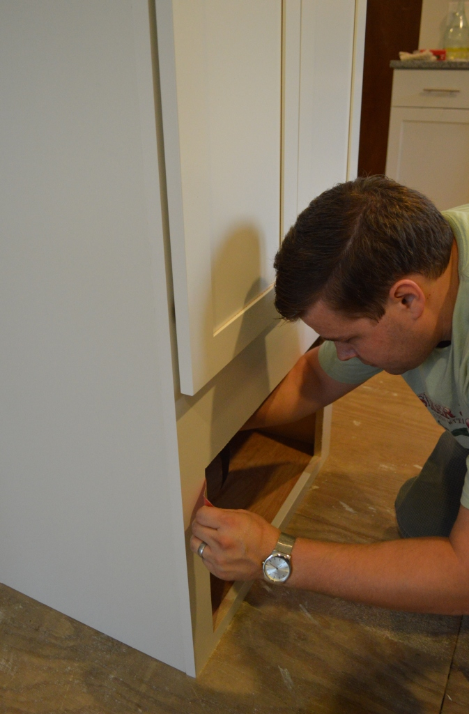 Fitting Microwave into Kitchen Cabinet