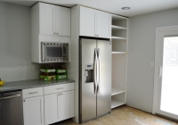 Fridge Built In Kitcen Cabinet Progress